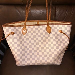 Louis Vuitton Neverfull MM (Damien Azur Canvas)
